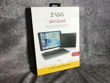 ZAGG Slim Book Schutzcase mit Tastatur für iPad Pro US QWERTY