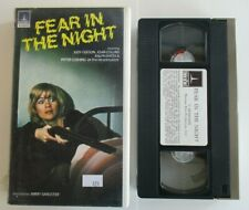 FEAR IN THE NIGHT VHS TAPE HAMMER PSYCHO HORROR 1972 JOAN COLLINS PETER CUSHING