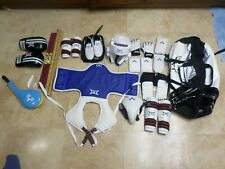 Lot of Tae Kwon Do Martial Arts Sparring Gear w/ Combat Weapons & Backpack Bag