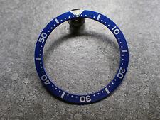 THE.ULTRA.CLASSIC MARINE BLUE BEZEL INSERT F.SEIKO.007/VOSTOK LUME DOT Z-09-MB