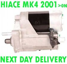 TOYOTA HIACE MK4 2001 2002 2003 2004 2005 2006 > on REMANUFACTURED STARTER MOTOR
