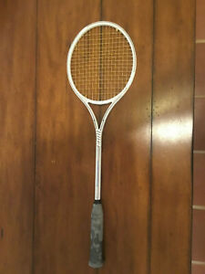 Used Slazenger Panther Pro Ceramic Graphite squash racquet in good condition