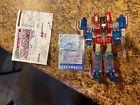 Transformers Henkei D-02 Classic GHOST Clear STARSCREAM Takara Tomy Generations
