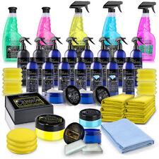 Car Detailing Kit | Ultimate Valeting Set | Cleaning Polish Wax Wash Wheel