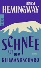 Schnee auf dem Kilimandscharo von Ernest Hemingway (2016, Taschenbuch)
