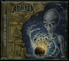 Attacker Sins Of The World CD new Metal On Metal Records