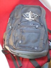 """Pre-owned inlinewarehouse.com logo black canvas BACK PACK 18""""x13""""x5"""""""
