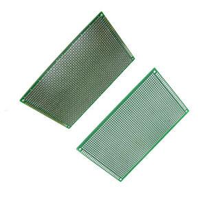 Double Side PCB Board Fibre Glass 9cm x 15cm Prototype FR4 Stripboard 2.54mm