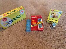 Lot Of Vintage Flashbulbs, Cubes, Flip Flash