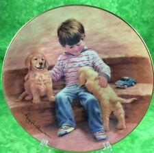 Hamilton Collection Magic Of Childhood 1985 Best Buddies Labrador Retrievers Lab