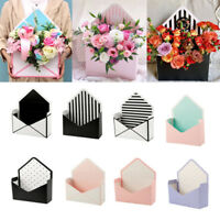 Creative Envelope Folding Rose Flower Box Gift Box Handhold Wedding Home Decor