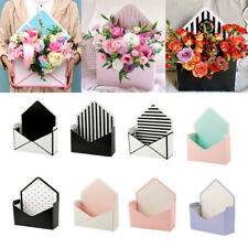 6Style Romantic Envelope Folding Flower Paper Holder Box Bouquet Florist Packing