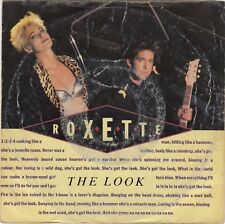 "ROXETTE THE LOOK / SILVER BLUE (DEMO VERSION) 1988 RECORD 7"" PS"