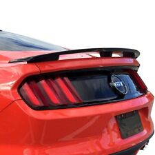 For Ford Mustang 15-19 T5i Custom Style Fiberglass Rear Spoiler Unpainted