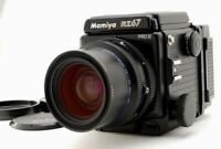[N MINT] Mamiya RZ67 Pro II + Sekor Z 65mm f/4 W Lens 120 Film Back JAPAN #1601