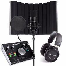 M-Audio Pro Audio Studio Equipment Packages