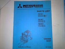 MITSUBISHI PARTS MANUAL #FB16KT-18KT-20KT (98)