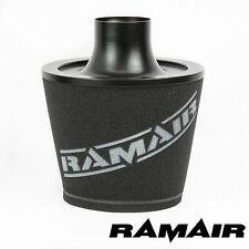 Ramair Noir Universel Velocity Stack Intake Cone Filtre à air 70 mm OD Neck
