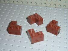 4 x LEGO RedBrown Brick Corner ref 2357 / Set 10236 10144 75020 75059 75058 7189