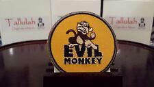 Evil Monkey Patch - Iron On