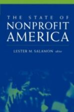 The State of Nonprofit America Salamon, Lester M. Paperback