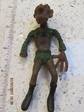 VINTAGE 60s in gomma Ghouls/Golan Figura-Play indossato Hong Kong