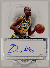 2017-18 Flawless Momentous Autographs #14 Gary Payton #20/25 (JSY numbered) READ