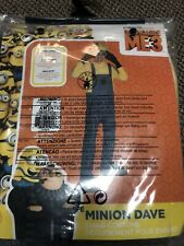 Despicable Me Child Minion Dave Costume Size Small