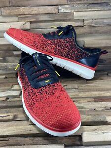 Cole Haan Generation ZEROGRAND Stichlight Shoes Red Black C31556 Men's 13