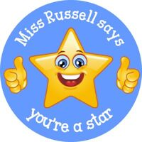 Personalised Reward Stickers - Teachers Mums Childminders Nurseries Round