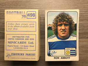 Panini Football 79 Stickers No's 300 - 594 Pick and Choose your Stickers