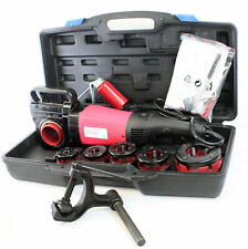 """2000W 1/2- 2"""" Portable Electric Pipe Threading Threader 6 Sized Dies"""