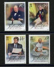 Churchill Kennedy Gandhi Nelson Europa 4 mnh stamps Gibraltar 1998 Letter Writer