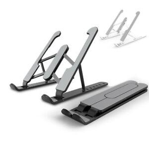 Adjustable Foldable Laptop Stand Desk Portable Notebook Riser Computer Holder