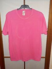 B&c Collection for Men Only vintage t-shirt rosa flúor XXL ligeramente transparente gay