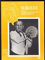 Joe Cossari King of Kards Genii Magicians Magazine Sept 1979 - contents in post