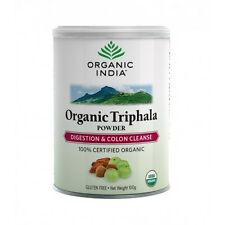 Organic India Triphala Powder 100g Digestion & Colon Cleanse - Certified Organic