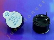 Stk.2 x 5V / 12mm  Signalgeber Schallgeber Buzzer Beeper Arduino PCB #A125