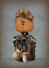 """Monica"" -  13"" Pumpkin Girl Doll Pattern by Sparkles N Spirt"
