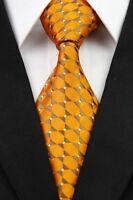 Red Black Blue White Orange Gray Floral CT Classic Silk Men's Tie Necktie