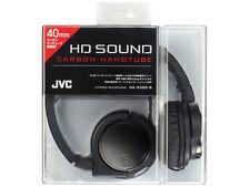 JVC Victor HA-S500-B Black Carbon Nanotube Stereo Headphones Japan New Official