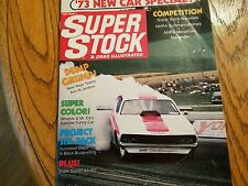 Super Stock Drag Illustrated Oct 72 Grumpy Jenkins Super Duster