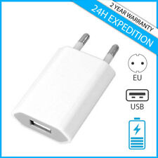 IPHONE SAMSUNG WALL CHARGER USB LADER MURAL CHARGEUR PRISE ADAPTER CHARGING PLUG