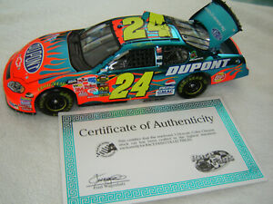 2005 Jeff Gordon #24 DUPONT Color Chrome Action RFO 1/24 NEW 1/3504
