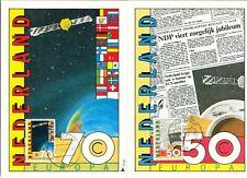 Nederland Maximumkaart(en) R57-58 W afgestempeld op 1e dag van uitgifte 1983