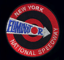 New York National Speedway patch badge top eliminator hot rod drag race