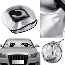 1x Folding Jumbo Cartoon Car Window Visor Auto Sun Shade Windshield Block Cover