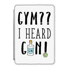 """Gym I Heard Gin Case Cover for Kindle 6"""" E-reader - Funny Gin and Tonic Cocktail"""