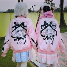 Winter Sweet Lolita Kawaii Loose Preppy Style Princess Padded Jacket Coat Hoodie