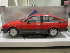 1:18 SOLIDO 1984 ALFA ROMEO GTV6 RED *NEW*